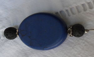 Broche épingle de pardon blue light